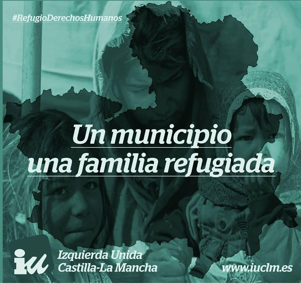 Un municipio una familia refugiada