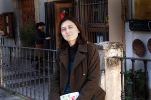 Ana Cruz, concejala de IU en el Ayuntamiento de Cuenca